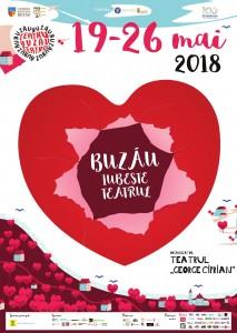 Afis BUZAU IUBESTE TEATRU 2018-2