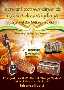 Afis Concert Buzău
