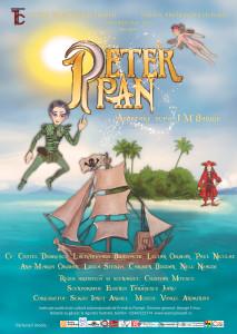 Afis spectacol Peter Pan