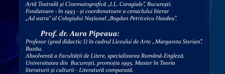 """Concursul """"Viața s-a mutat pe Internet"""" – secțiunea POVEȘTI va fi jurizată de Prof. Iulia Lazăr, Prof. dr. Aura Pipeaua, Prof. Cristina Tudorancea."""