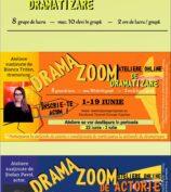 """Teatrul """"George Ciprian"""" deschide o nouă etapă de înscrieri la ateliere online Drama ZOOM"""